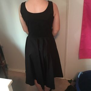 Little Black Dress with Empire Neckline